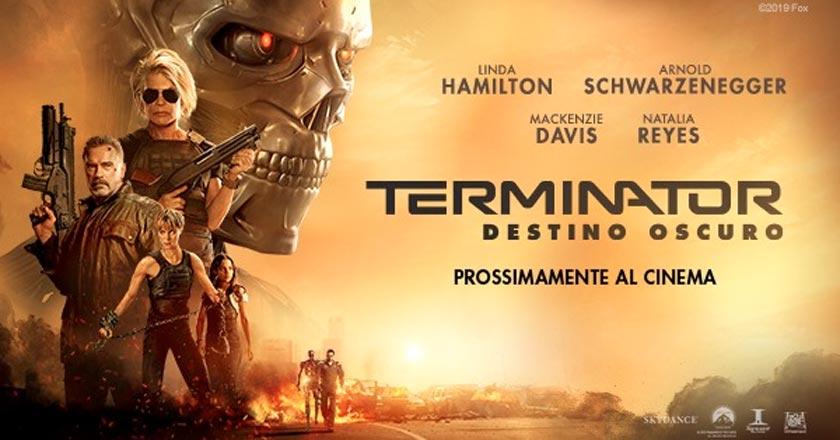 Terminator: Destino Oscuro  – Giovedì 31 Ottobre