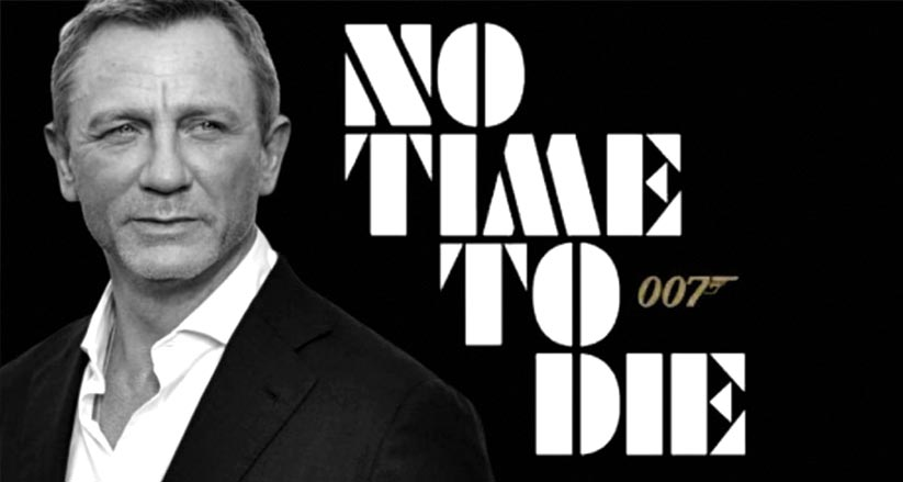 007 No time to die  – dal 30 settembre in sala
